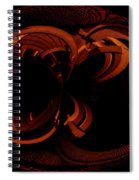 Color Study 03 Rust Spiral Notebook