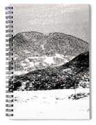 Colorado 2 In Black And White Spiral Notebook