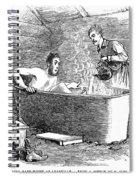Colorado Bathhouse, 1879 Spiral Notebook