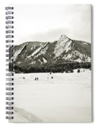 Colorado Boulder Flatirons  Spiral Notebook