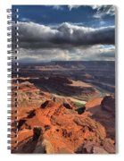 Colorado In The Distance Spiral Notebook