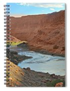 Colorado River Canyon 1 Spiral Notebook