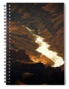 Colorado River Rapids Spiral Notebook