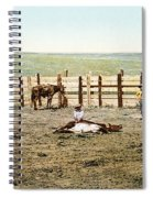 Colorado: Roping A Steer Spiral Notebook
