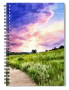 Colorado Sunset Spiral Notebook