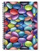 Colored Beans Design Spiral Notebook