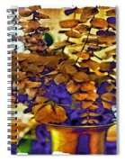 Colored Memories Spiral Notebook
