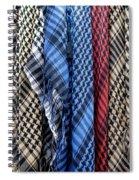 Colored Palestinian Keffiyeh Spiral Notebook
