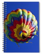 Colorful Balloon Spiral Notebook