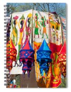 Colorful Banners At Surajkund Mela Spiral Notebook