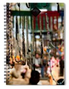 Colorful Beads At The Surajkund Mela Spiral Notebook