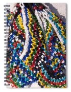 Colorful Beads Jewelery Spiral Notebook
