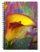 Colorful Calla Lily Spiral Notebook
