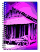 Colorful Cracker House Spiral Notebook