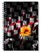 Colorful Cubed Beauty Spiral Notebook
