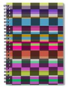 Colorful Cubes Spiral Notebook