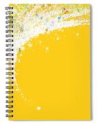 Colorful Curved Spiral Notebook