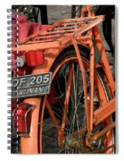 Colorful Dutch Bikes Spiral Notebook