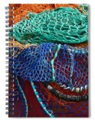 Colorful Fishing Nets 2 Spiral Notebook