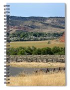 Colorful Hills Of Wyoming Spiral Notebook