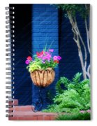 Colorful Porch Spiral Notebook