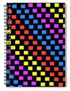 Colorful Squares Spiral Notebook