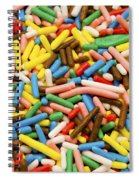 Colorful Sugar Spiral Notebook