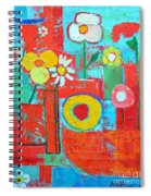 Colorful Summer  Spiral Notebook
