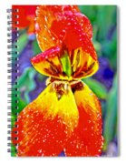 Colorful Tulip Spiral Notebook