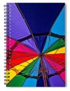 Colorful Umbrella Spiral Notebook