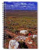 Colorful Valley From Fossil Lake Trail Spiral Notebook