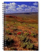 Colorful Valley From Fossil Lake Trailsil Bu Spiral Notebook