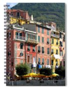 Colorful Vernazza Spiral Notebook