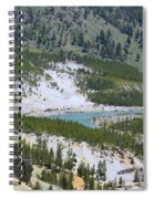 Colorful Yellowstone Valley Spiral Notebook