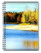 Colors At Chena Ll Spiral Notebook