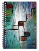 Colors In Shape Spiral Notebook