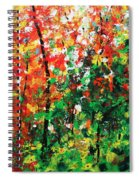 Colors Of October Spiral Notebook