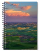 Colors Of The Palouse Spiral Notebook