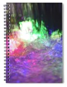 Colors Of The Rainbow  Spiral Notebook