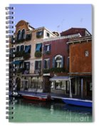 Colors Of Venice Spiral Notebook