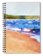 Colors Of Water Spiral Notebook