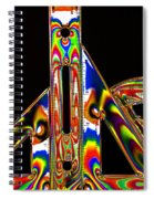 Colourful Geometry Spiral Notebook