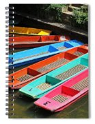 Colourful Punts Spiral Notebook
