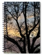 Colours Of The Dusk Spiral Notebook