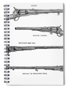 Colt Weapons, 1867 Spiral Notebook