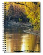 Columbia Bottoms Slough II Spiral Notebook