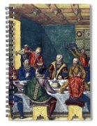 Columbus And The Egg Spiral Notebook