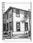 Columbus New Mexico  Spiral Notebook