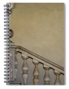 Column And Stairway At Wawel Castle In Krakow Poland Spiral Notebook
