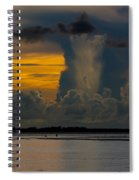 Column Over Sanibel Spiral Notebook